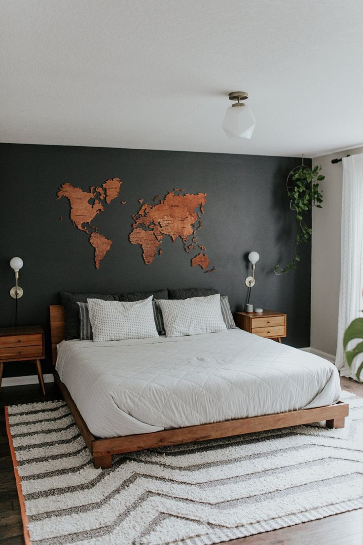 Wood Wall Art Wall Map Of The World Map Wooden Travel Push Pin Map Rustic Home 5thanniversary Dorm Decor 3d Wooden World Map Wall Decor World Map Wall Decor Bedroom Interior Wooden bedroom wall decor