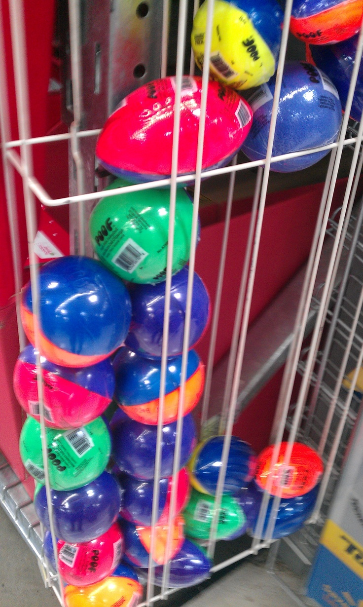 Small nerf balls great as a party favor!