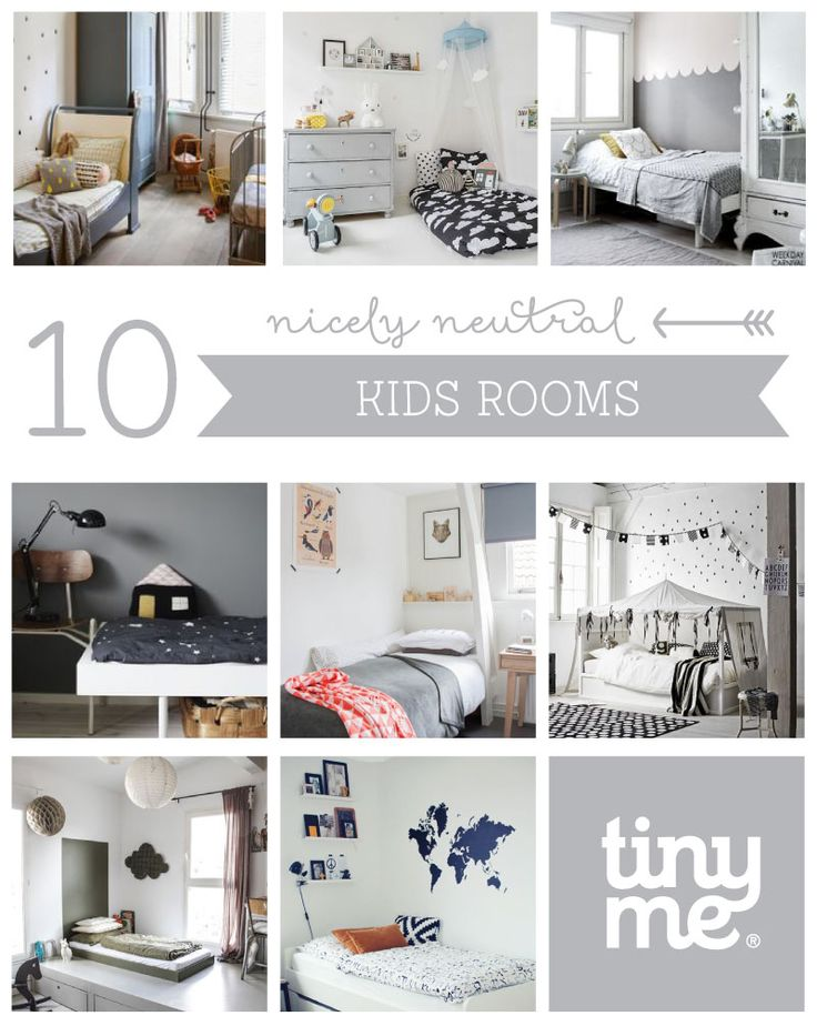 10 Nicely Nuetral Kids Rooms - Tinyme Blog