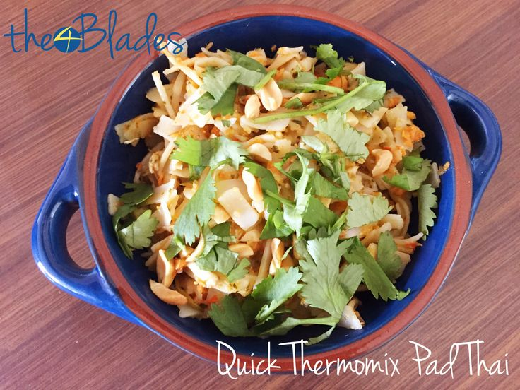 "<p>This Quick Thermomix Pad Thai was originally featured in The 4 Blades Podcast Episode 76: Thermomix Thai Recipes. Bec wanted to call it 'Quick Un-Authentic Thermomix Pad Thai'. Joe said no. What makes it un-authentic? Well, it doesn't have sugar, as pad thai usually does. Also, the vegetables are chopped …</p><div class=""sharedaddy sd-sharing-enabled""><div class=""robots-nocontent sd-block sd-social sd-social-official sd-sharing""><h3 class=""sd-title"">Share this:</h3..."