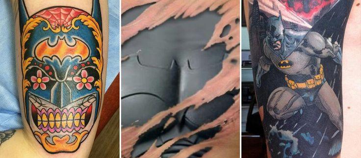 Les meilleures id es concernant tatouage batman sur pinterest - Le plus beau tatouage du monde ...
