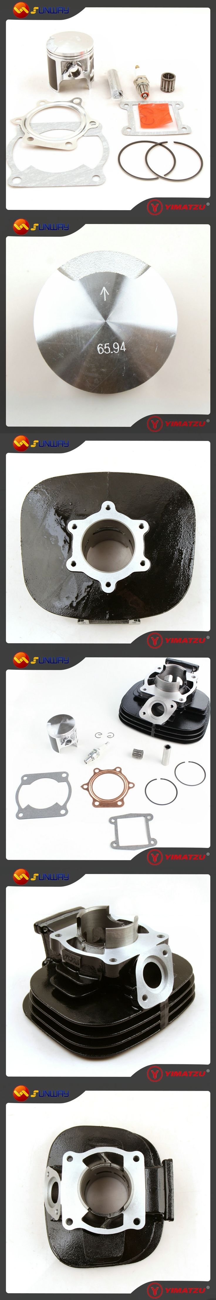 SUNWAY ATV Engine Parts 85mm  Cylinder Kit for YAMAHA BLASTER 200 YFS200 DT200 200CC ATV Quad Bike
