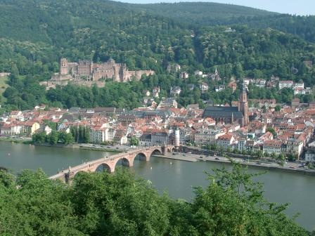 Heidelberg: Paddles Boats, Favorite Places, Most Popular, Heidelberg Alemania, The Cities, Heidelberg Germany, Bridges, Baroque Charms, Heidelberg Castles