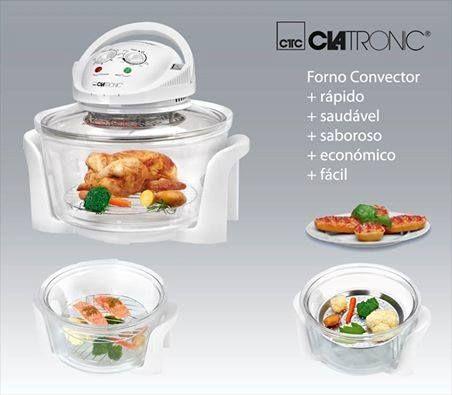 O Convector HLO 3523 torna os seus cozinhados mais uniformes e saudáveis e também preserva as suas vitaminas e sabores. Venha conhecê-lo melhor! http://www.clatronic.de/product_video.php?products_id=4673