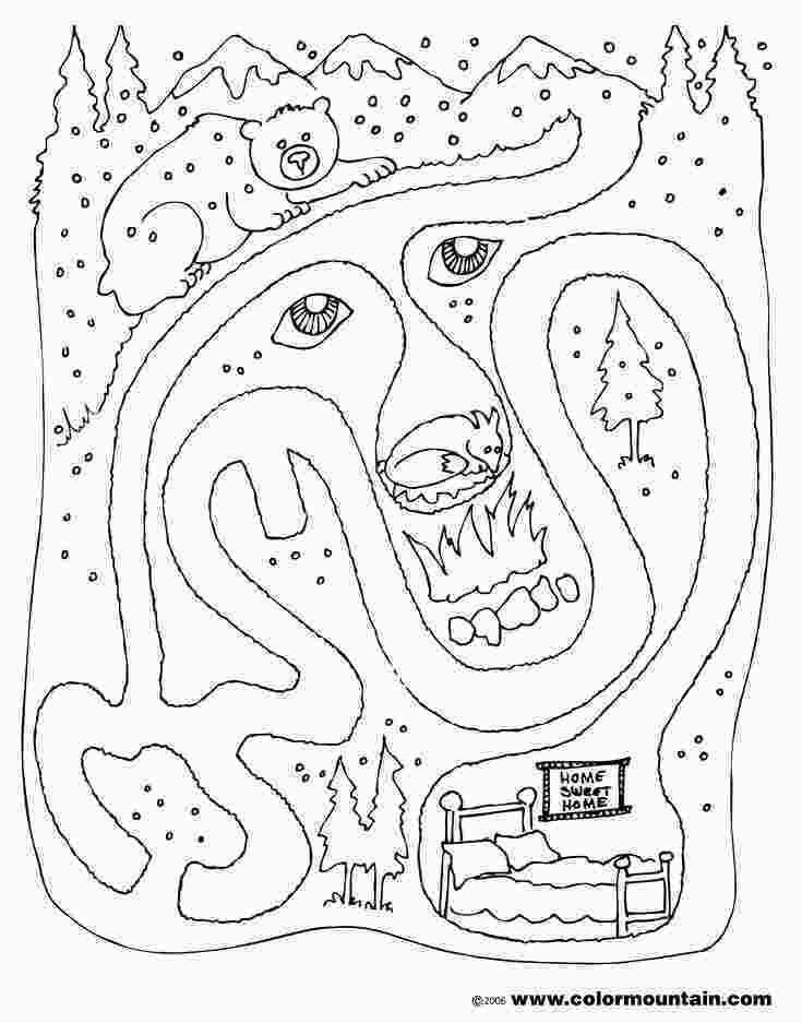 Free Printable Coloring Pages Hibernating Animals 14 Best Hibernation Images On Pinterest Animals That Hibernate Kindergarten Worksheets Animal Coloring Pages