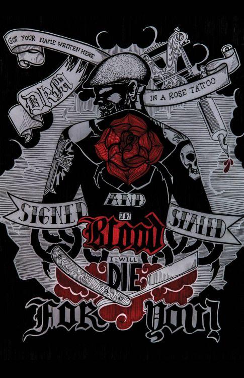 "Lyrics -Dropkick Murphys""Rose Tattoo"""