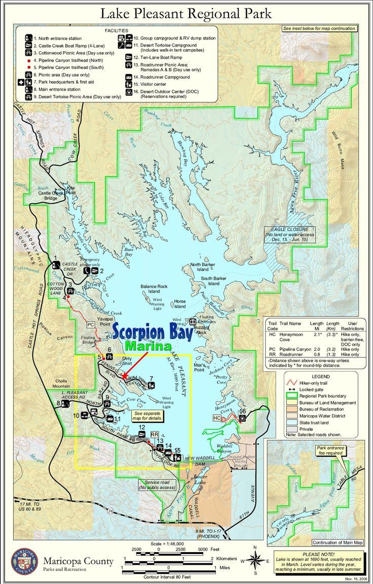 Scorpion Bay Boat Rentals on LAKE PLEASANT, Peoria, AZ