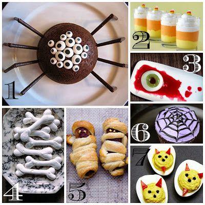 Seven Fun Halloween Treats and Snacks