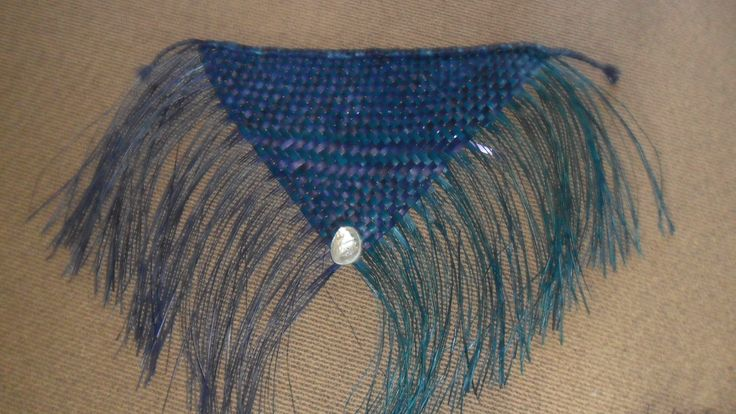 Flax wall hanging.