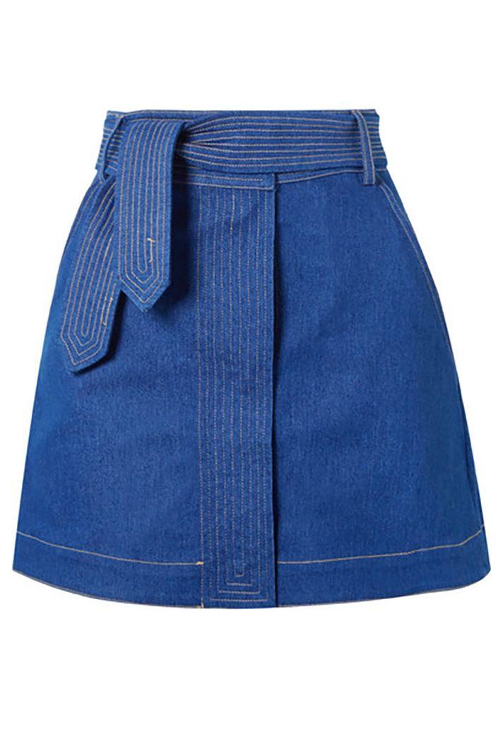 stylecaster jeans minirock mode roecke herbst kleiderschrank