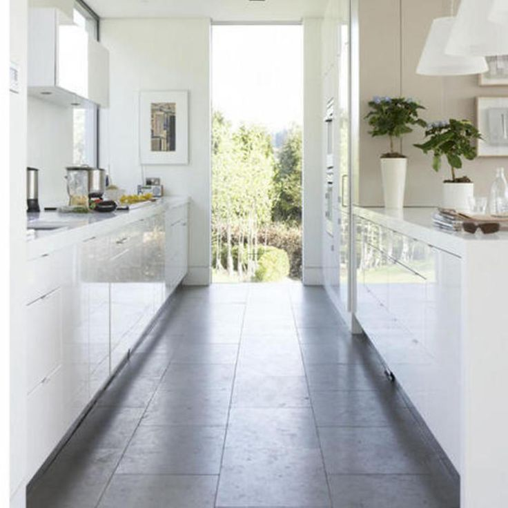 Narrow Galley Kitchen Ideas: Endearing Kitchen Tile Ideas Build Magnificent Traditional
