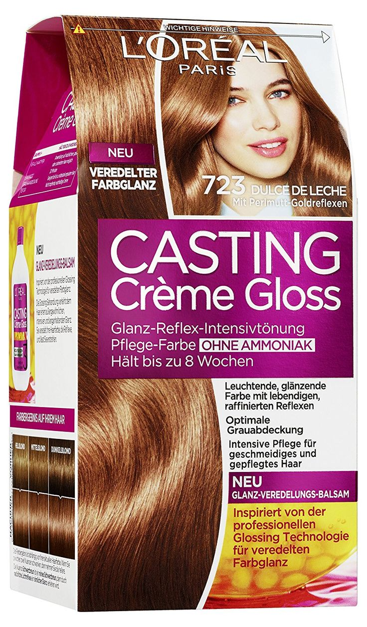 L'oreal Paris Casting Creme Gloss Hair Colourant 723 Dulce de Leche ** To view further for this article, visit the image link. #hairclip