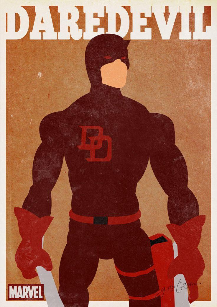 Inspiração posters retrô – Heróis #5 ~ De volta ao retrô