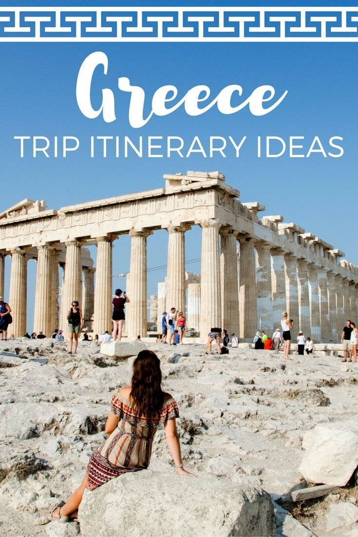 Heading to Greece and need itinerary and trip planning help? Check out this list of what to do & see with 10 days in Greece, on a budget!