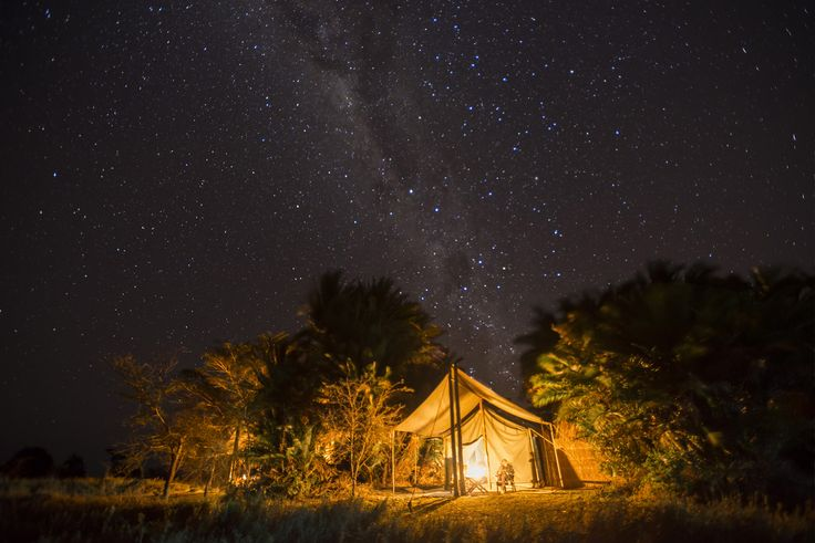 Sleep under the stars and let your dreams come true! #busanga #mukambi