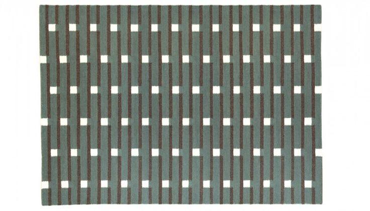 Purlin Flatweave Rug Sea Green - Rugs - Home Accessories