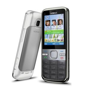 Buy #NokiaC5 it is a good Phone it has very good look its features are TFT, 16M colors     240 x 320 pixels      Size - 112.3 x 46 x 12.3 mm     Weight - 95 g      5 MP, 2592х1944 pixels     Video     Video Calling      GPRS     Bluetooth     EDGE     3G,HSDPA,     USB Connection      FM Radio with RDS, FM transmitter     JAVA     Video / Photo editor     Downloadable Games     Facebook, YouTube, hi5, Friendster, MySpace apps     MP3 player for more visit at- www.refurb-phone.com/