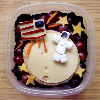 Boy's Over the Moon Astronaut Bento Lunchbox Ideas