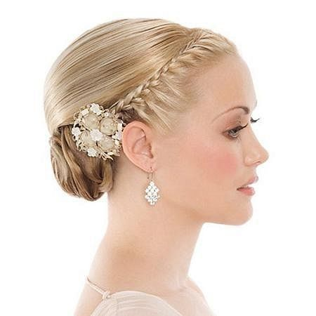 The Voluminous Updo Wedding Hairstyle For Thin Hair