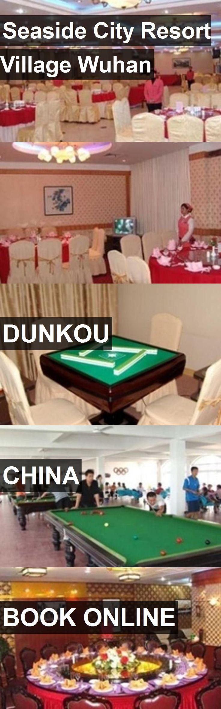 Hotel Seaside City Resort Village Wuhan in Dunkou, China. For more information, photos, reviews and best prices please follow the link. #China #Dunkou #SeasideCityResortVillageWuhan #hotel #travel #vacation