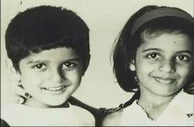 Farhan Akhtar with twin sister Zoya Akhtar