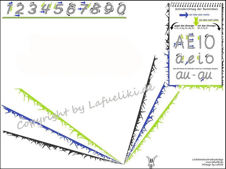 Die Vario left/links Schreibunterlage ist eine Weiterentwicklung der Lafüliki Linkshänder Schreibunterlage und vereint alle aktuellen Entwicklungen des Schreiblernprozesses in einem Produkt. Ausgestattet mit einer selbstklebenden,...