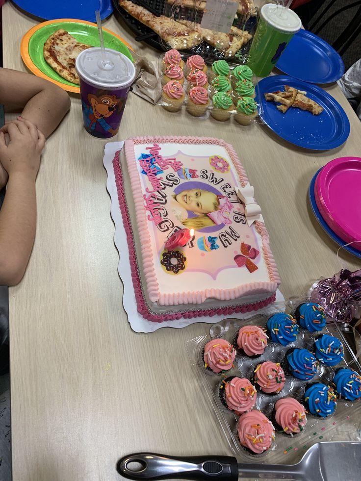 Jojo siwa birthday cake from Walmart custom made Walmart