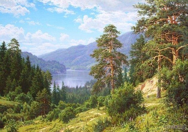 Воспоминание о Сибири - Басов Сергей Геннадьевич - - Arts.In.UA
