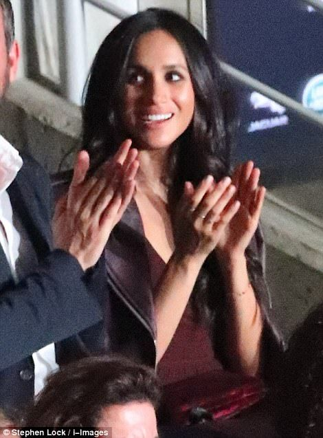 Meghan Markle appeared at the Invictus games opening ceremony on Toronto on Saturday night, marking the first time she has joined Prince Harry at an official event since their romance was confirmed last year