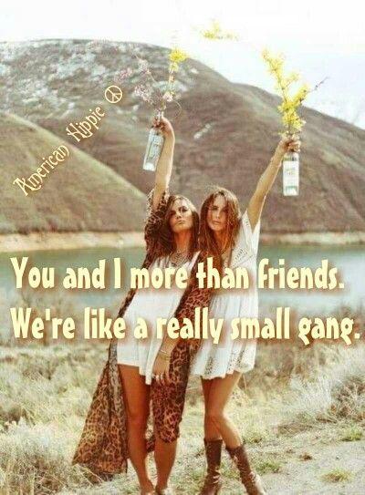 ☮ American Hippie ☮ Best Friends