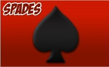 Play Spades and other Free Family Friendly Online Games. Register for Free and you will have a chance to win 50,000 dollars each week by posting the top score!    http://advergames.skygames.biz