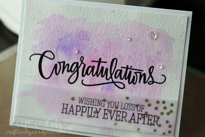 Congratulations  - Wedding 3
