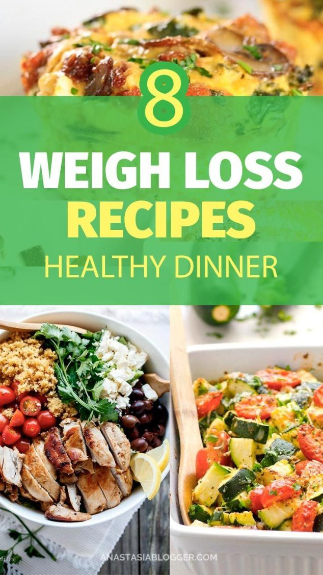 Pin On 8 Healthy Weight Loss Dinner