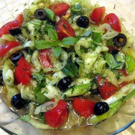 Nyári vegyes saláta II.