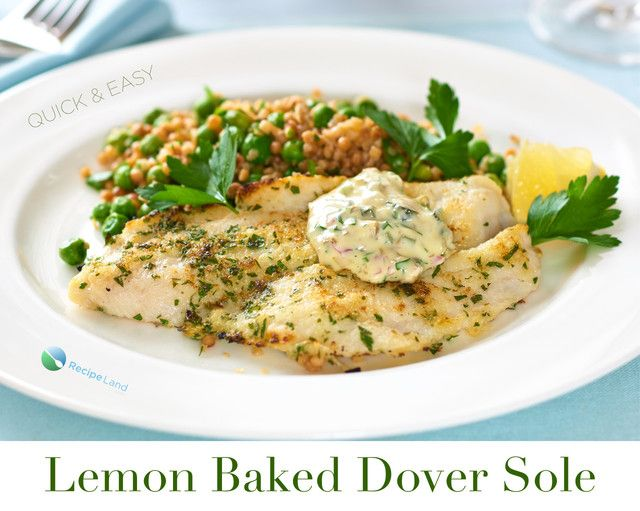 A very simple and healthy way to prepare the prized Dover sole that highlights its mild, buttery sweet flavor.