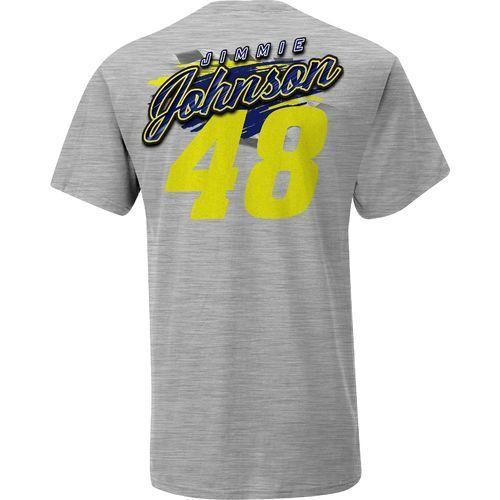 Nascar Men's Jimmie Johnson #48 In Motion Tee (Grey, Size Small) - Pro Nascar, Nascar Apparel at Academy Sports