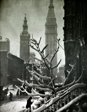 """Two Towers""--New York 1911 by Alfred Stieglitz"