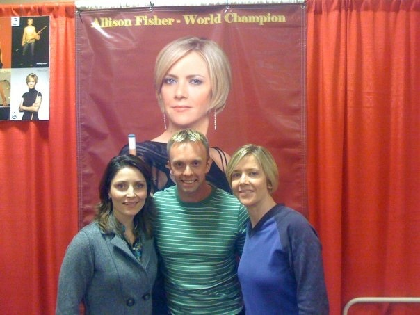 Kristi Carter, Allison Fisher and Thorsten Hohmann