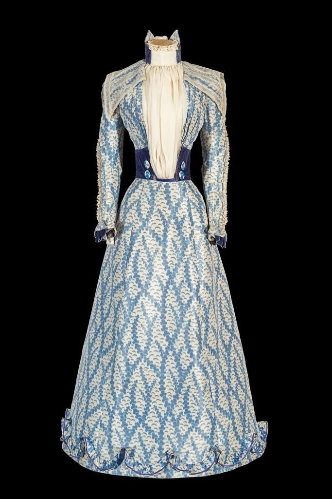 Afternoon Dress, ca. 1890s Owned by Empress Elisabeth of Austria