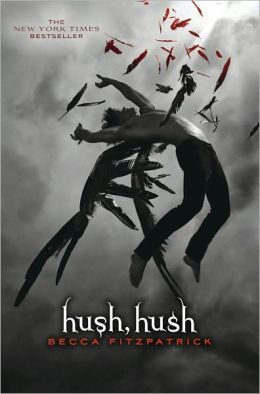 Hush, Hush by Becca Fitzpatrick have to say it's one of the first books since the Harry Potter books and The Mortal Instruments series that I've actually gotten into immediately after reading the first page. I've only read the first one but I plan on finishing the others within a week