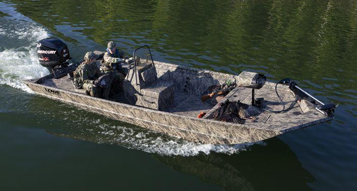 Lowe Boats.