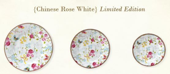 PiP limited edition Chinese Rose white Prachtig te combineren met het huidige PiP servies.