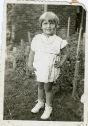 Justice Ruth Bader Ginsberg as a child (82)