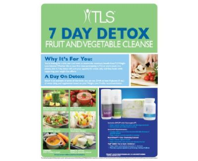 get fit ideal products to use with the tls 7 day detox