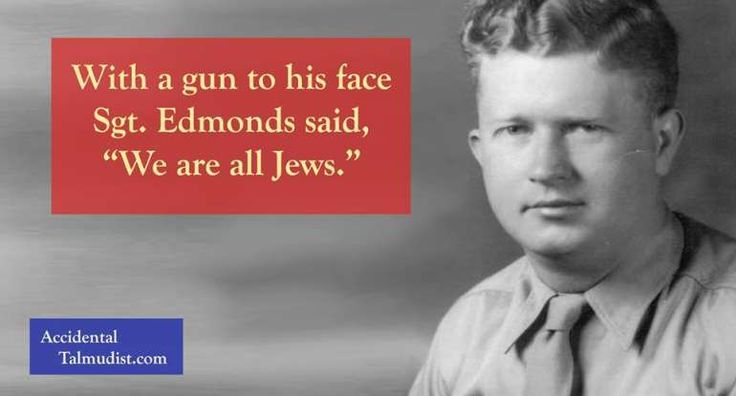 Roddie Edmonds: How One Man's Faith Saved 200 Jewish American Soldiers From the Nazis #PJMedia  https://pjmedia.com/faith/2017/03/07/roddie-edmonds-how-one-mans-faith-saved-200-jewish-american-soldiers-from-the-nazis/