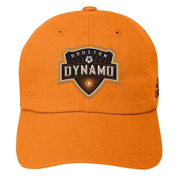 c06232c7717 Youth Houston Dynamo adidas Orange Team Slouch Adjustable Hat
