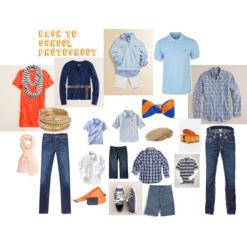 Blue & Orange - good palette for Auburn family