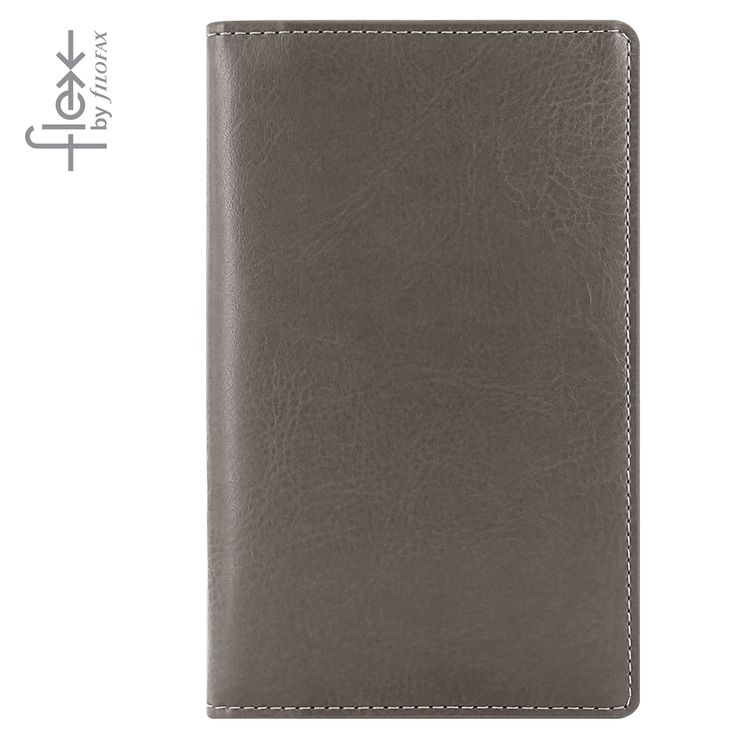 Filofax Flex Smooth Slim Grey