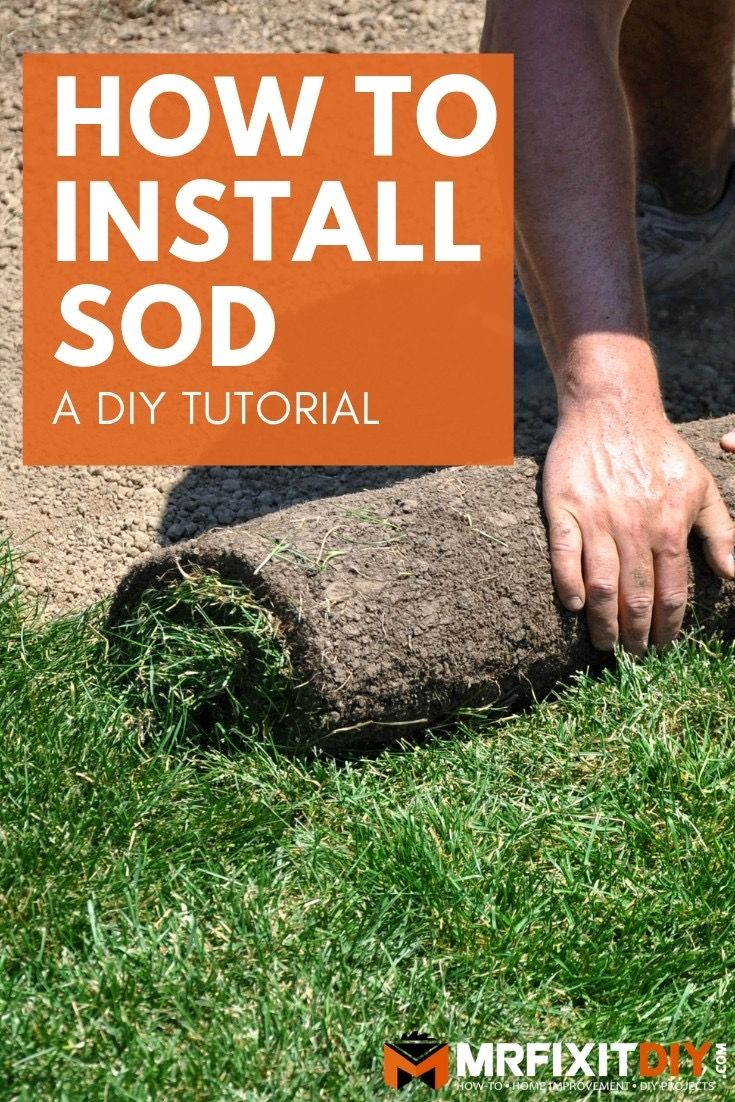 How To Prepare The Area Install Sod And Make It Last Sod