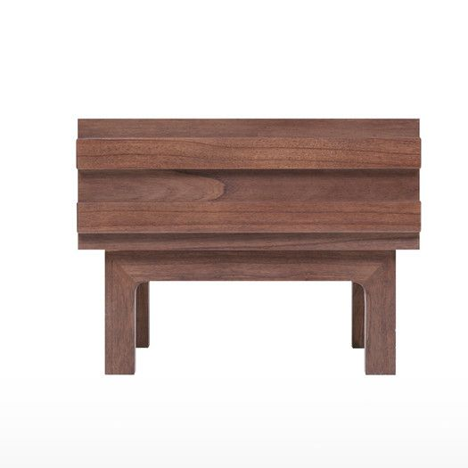 EQ3 Burrows 1 Drawer Nightstand